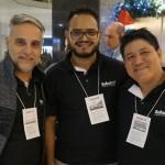 Rodney Rocha, Vinicius Oliveira e Eurito Teixeira, da Schultz