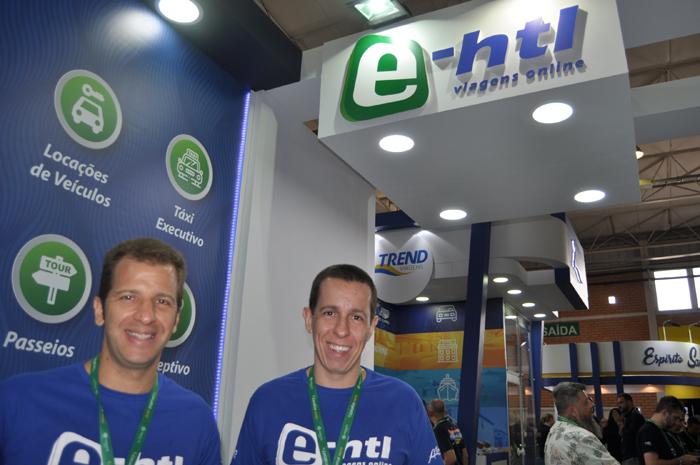 Rogério e Flavio Louro, da E-HTL
