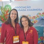 Romana Vale e Isabel Albuquerque, da Associação Pousada Charmosa
