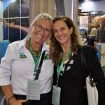 Rosa Masgrau, do M&E, e Jane Terra do Visit Orlando