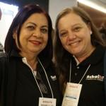 Rosangela Chagas e Gisele Basso, da Schultz AP e PR