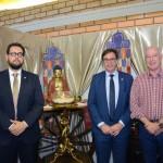 Ruy Irigaray, Secretário de Turismo do Rio Grande do Sul, Gilson Machado Neto, presidente da Embratur, e Herculano Passos, deputado Federal