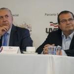 Sebastião Misiara, da Uvesp, e Tirso Meireles, do Sebrae-SP