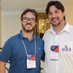 Segundo Pitol, da Pitoltur, e Agenor Bertoni, da GTA