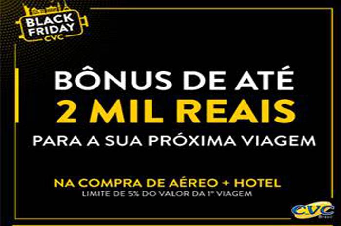 No esquenta para a Black Friday, a operadora lançou campanha que concede desconto de R$ 250 até R$ 2 mil reais na compra da segunda viagem