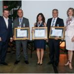Atout France premia agentes de viagens brasileiros com medalha do turismo