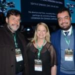 Sergio Almeida, assessor do Governador do RJ, Adriana Homem, da Setur-RJ, e Claudio Castro, vice Governador do RJ