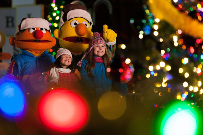 Sesame Street® Christmas Parade é a nova atração do natal no Sea World Orlando
