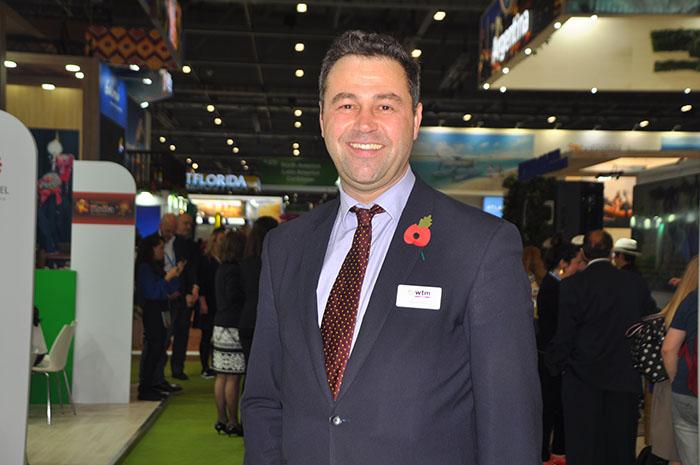Simon Press, diretor da WTM Londres