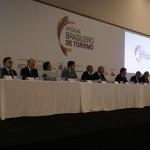 Solenidade de abertura com lideranças do turismo