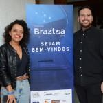 Taís Santos, da Agência Guanabara, e Danilo Dessotti, da Braztoa