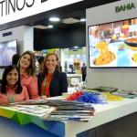 Taluana Maron, da Setur-BA, Fernanda Moliterno, do Tivoli Praia do Forte, e Adriana Lopes, da Setur-DF