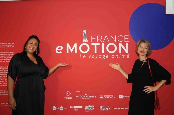 Tatiana Angelini e Caroline Putnoki, da Atout France
