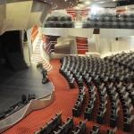 Teatro tem capacidade para 1,5 mil hóspedes