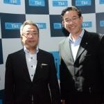 Tsuyoshi Imayasu e Quengo Kanatani, da Japan Airlines