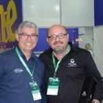Valter Sampaio, da Transeuropa, e William Carvalho, do Vila Galé