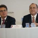 Vinicius Lummertz, secretário de Turismo de São Paulo, e Toni Sando, Unedestinos e Visite São Paulo