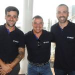Vinicius Ribeiro, Cleiton Feijó e Raphael Magalhães, da Visual Turismo