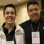 Vinicius Vaz, da Vital Card e Celso Oliveira, da Schultz