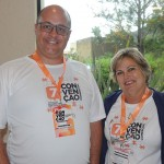 Washington Marcilio e Sonia Maronez, da Affinity
