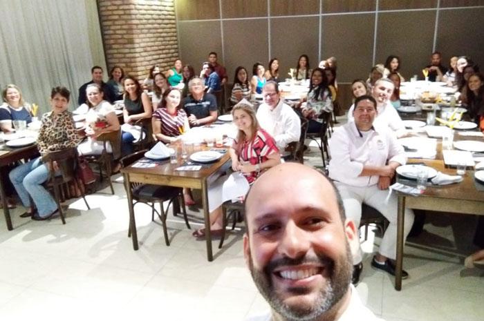 A capacitação foi realizada no Coco Bambu de São Luis (MA)