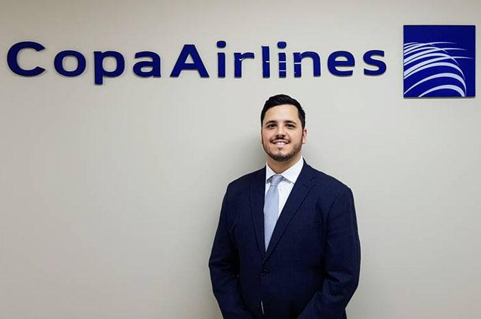 João Gabriel Chagas, novo executivo de Vendas da Copa Airlines