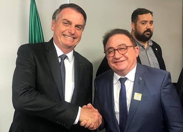 Manoel Linhares, presidente da ABIH, negociou a isenção do Ecad para a hotelaria com o presidente Jair Bolsonaro