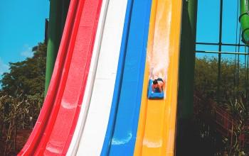 Novas atrações do Blue Park superam expectativas; veja fotos