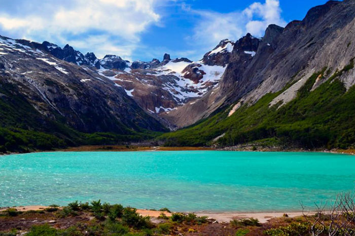 Laguna Esmeralda, em Ushuaia, Argentina