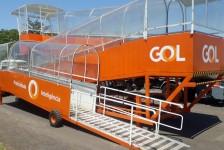 Gol inaugura rampa de acessibilidade em Presidente Prudente