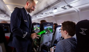 Air France opera primeiro voo do mundo com tecnologia Li-Fi