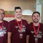 Vander Batista, William Daniel e André Luis (Campinas)