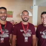 Rogério de Castro, Gullitt Silva e Eduardo Silmonetti (Campinas)