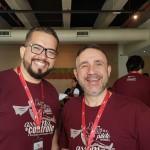 Marcos Prado (Campinas) e Anthony Bringhenti  (Ribeirão Preto)