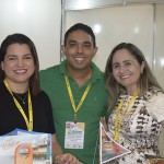 Ada Tabosa, Marcos Freitas e Jeanny Rodrigues, do Hotel Sonata de Iracema