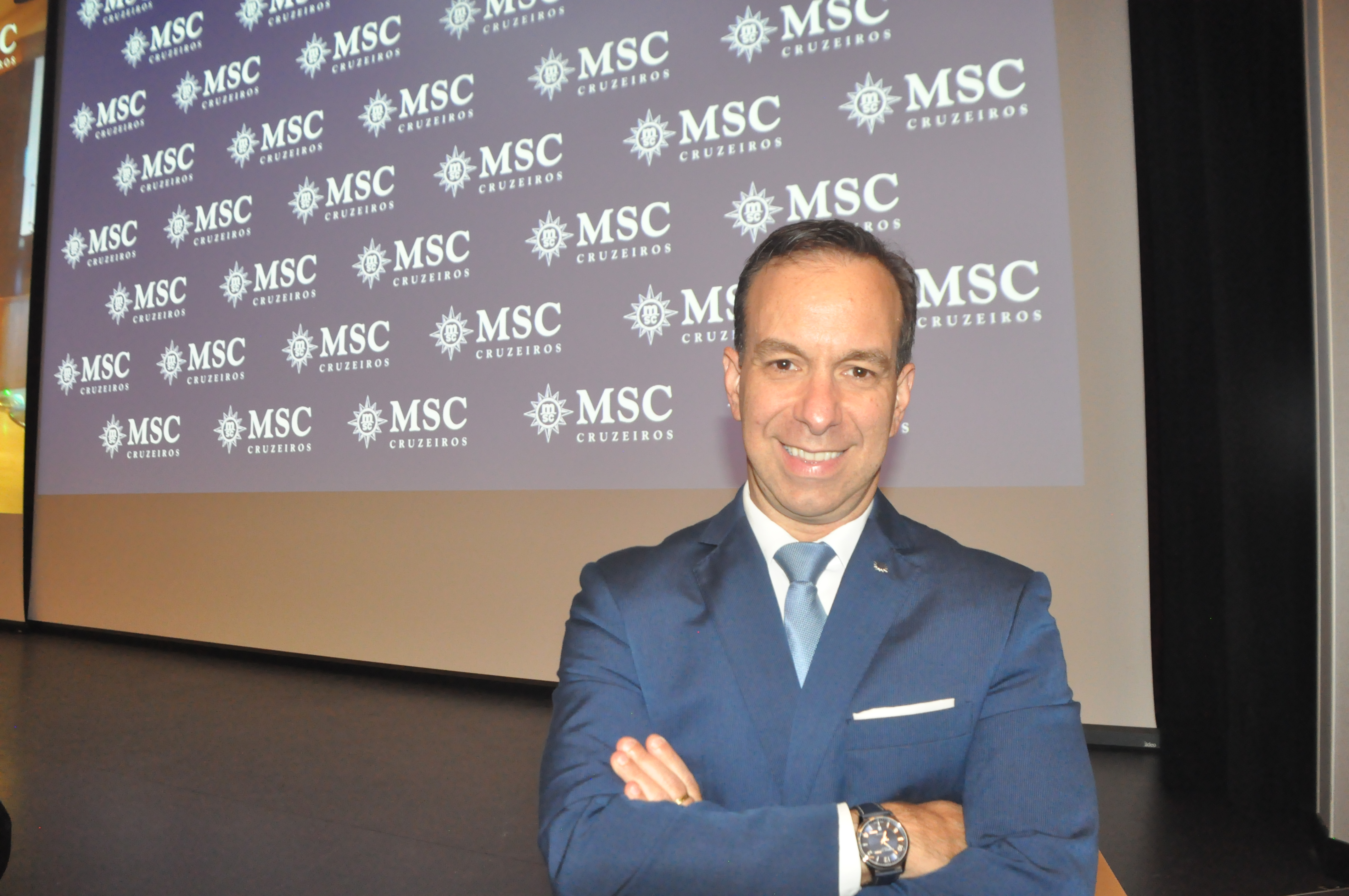 Adrian Ursilli, Diretor Brasil da MSC