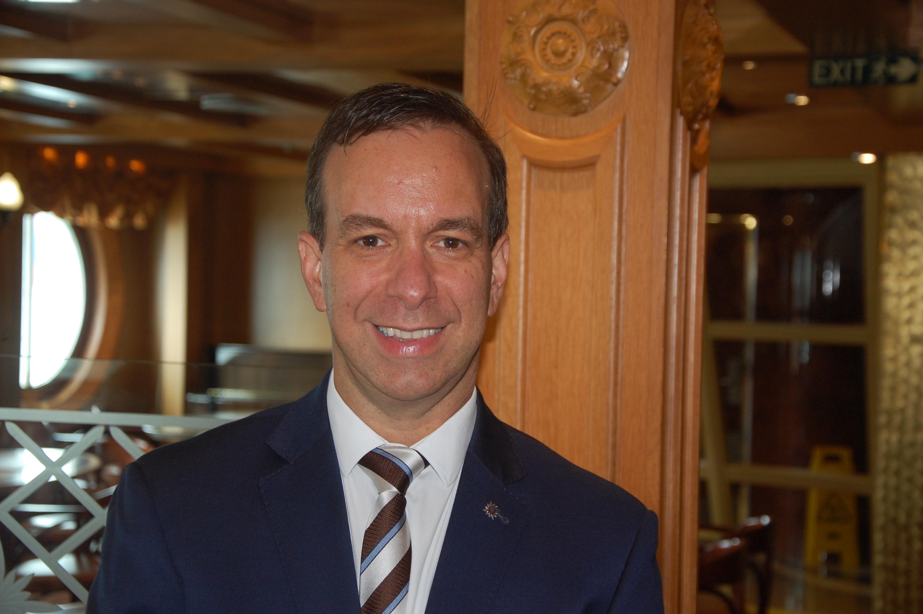 Adrian Ursilli, diretor geral da MSC Cruzeiros do Brasil