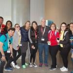 Agentes brasileiros reunidos no site inspection do Aventura Hotel