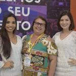 Alanis Vidal, Salete Cavalcanti, da Ikone; e Mayara Rocha, da Molise Mix