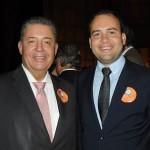 Alexandre Sampaio, da FBHA, e Jair Galvão, secretário de Turismo de Maceió