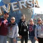 Anderson Araujo (Incomum Operadora), Priscila Colnagli (Pixie Travel), Thiago Miranda (Magic Way Tours), Karina Santos (Touristando Viagens),  e Katiana Pereira (KA Turismo)