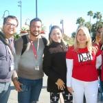 André Santoro (Santoro Turismo),Cleison Moura (Doiselle Turismo), Eliane Julia (Doiselle Turismo), Silvânia Reis (Bancorbrás) e Patricia Bortoli (Heron Tour)