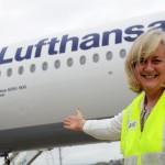 A rota São Paulo-Munique, da Lufthansa entrou em operação em dezembro.