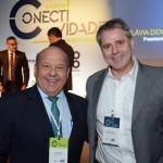 Antonio Roberto Trinca e Eduardo Moraes da American Airlines