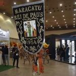 Apresentação do ritmo do Maracatu