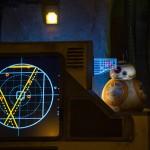 BB8 é quem recebe os novos recrutas para a rebelião