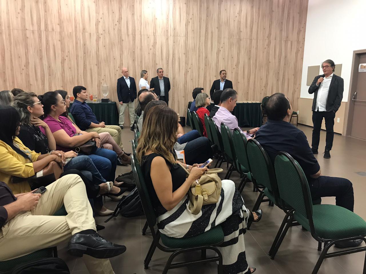 Arialdo Pinho, secretário de Turismo do Ceará, participou do evento