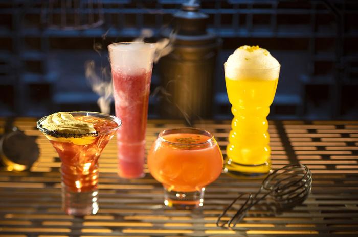 Bebidas de todos os tipos na Ogas Cantina