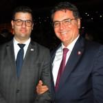 Bernardo Brandão, secretário adjunto de Turismo de MG, e Vinicius Lummertz, secretário de Turismo de SP