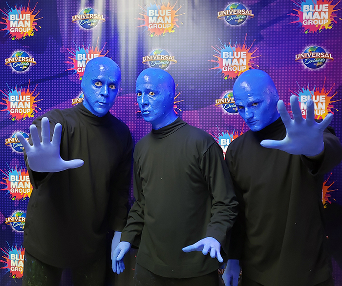 Blue Man Group é uma das principais atrações do City Walk
